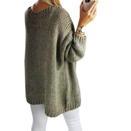 Spring Sweater Cardigan Female Twist Loose knitted Sweater Thick Full  Sleeve all match 31908ef89