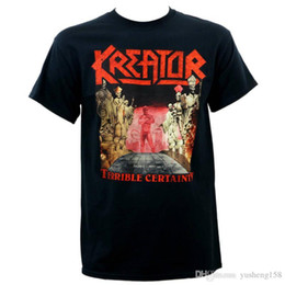Discount plus size short sleeve denim shirt - Interesting Short Sleeve Men Printing Machine Authentic Kreator Crew Neck T Shirts