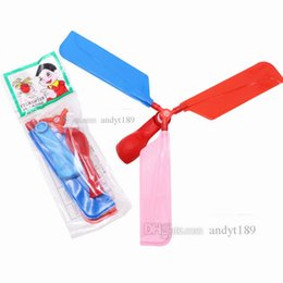 $enCountryForm.capitalKeyWord Australia - Flying balloon helicopter DIY balloon airplane toy children's toy combination balloon children's puzzle toy Party Favor T2G5015