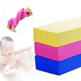 $enCountryForm.capitalKeyWord UK - PVA High Density Body Exfoliating Bath Sponge Shower Rub Tool for Baby Adults Kids Bath Brushes Body Wash Towel Accessories