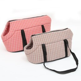 $enCountryForm.capitalKeyWord Australia - Lattice Pet Dog Carrier Bag Soft Pet Carrying Backpack Dog Cat Shoulder Bags Puppy Outdoor Travel for Small Dogs Pet Products