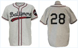 Player high quality online shopping - Baltimore Elite Giants Road Jersey Any Player or Number Stitch Sewn All Stitched High Quality Baseball Jerseys