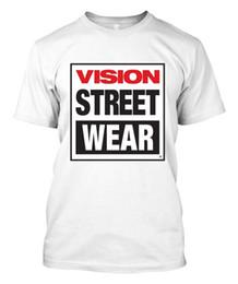 9321bfac376 New Vision Street Wear Skateboard - Custom Men s White T-Shirt Tee 100%  Cotton For Man
