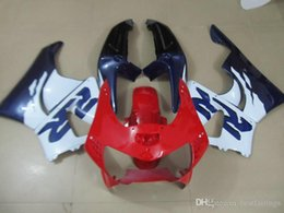cbr919 fairings UK - 7gifts fairings for Honda CBR900RR CBR919 1998 1999 white red blue fairing kit CBR919RR 98 99 ER60
