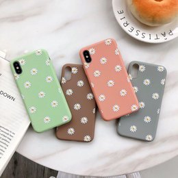 China 3D Flower Daisy Soft Silicon Case for IPhone X S XS Max Xr 6 6S 7 8 Plus I Phone 8plus Tpu Back Cover Phone Protective Cases 100pcs suppliers