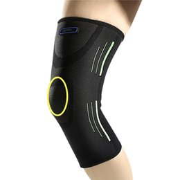 Leg guards for basketbaLL online shopping - Sports Knee Pad Leg Sleeve Guard Protector Elastic Kneepad for Basketball Football Cycling BHD2