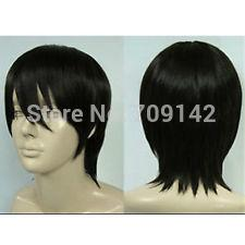kanekalon lace wigs Canada - New Fashion Hair Wig Short Black Cosplay Party Wig queen Kanekalon hair no lace front wigs Free deliver