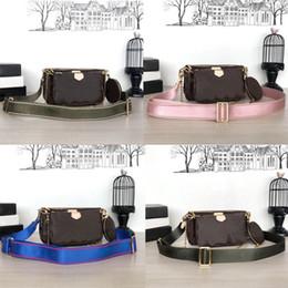 Genuine phones online shopping - Brand bags MULTI POCHETTE ACCESSOIRES new Fashion Women s Small Shoulder Bag brand Chain Crossbody bag designer luxury handbags purses