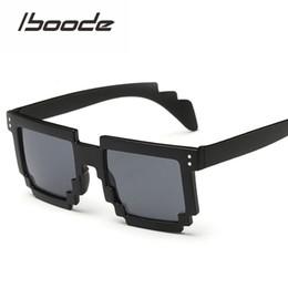 70e808e4228 Pixel Sunglasses NZ - IBOODE New Fashion Pixel Mosaic Sunglasses Hipster  Irregular Sun Glasses Men Women