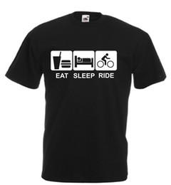 Eat Sleep Ride Bike Kids Adults Birthday Xmas Gift MTB BMX Road Cycling XC Funny Free Shipping Unisex