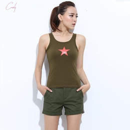 Plus girls hot online shopping - Mini Womens Sexy Shorts Short Female Summer Slim Hot Casual Shorts Girls Military Cotton Shorts Colors Plus Size Solid
