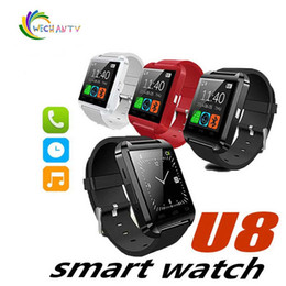 $enCountryForm.capitalKeyWord Australia - Bluetooth Smart Watch Men u8 With Touch Screen Big Battery Support TF Sim Card Camera for Android Phone Smartwatch