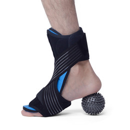 $enCountryForm.capitalKeyWord Australia - Compression Foot Support With Massage Ball Mat Adjustable Corrector Protective Guard Wrap Fitness Ankle Protection
