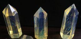 $enCountryForm.capitalKeyWord Australia - Free Postage Crystal Wand Point Wholesale Fashion FashionAsian Rare Citrine Quartz Crystal Wand Point Healing Magic Crystal Healing