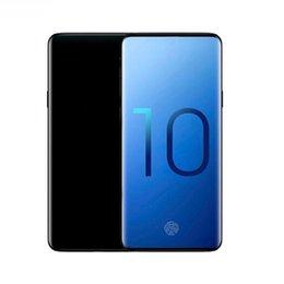 6,3-дюймовый Goophone ES10 плюс 10 + 1 ГБ оперативной памяти 8 ГБ ROM изогнутый экран HD мобильный телефон MT6580P Quad core Dual sim разблокирован смартфон