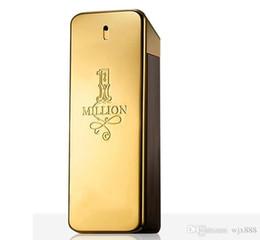 19SS Perfume caliente! rabanne Gold Million perfume hombre 100 ml con larga duración Million Spary perfume. en venta