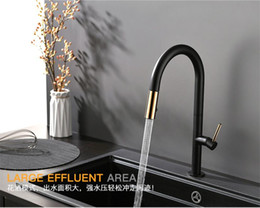 $enCountryForm.capitalKeyWord Australia - Newly Arrived Pull Out Kitchen Faucet Rose gold and White Sink Mixer Tap 360 degree rotation kitchen mixer taps Kitchen Tap