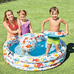 $enCountryForm.capitalKeyWord Australia - Water Inflatable Play House Baby Marine Ball Pool Inflatable Swimming Pool Summer Family Paddling For Children