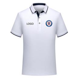 5866df80be9 White Soccer Shirts UK - 2019 cruz azul Polo Shirt soccer Jersey 19 20 cruz  azul