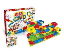 Rails Blocks NZ - [TOP] DIY 123pcs Rolling ball rail blocks Sliding track Larger particles Building Blocks toy Compatible with Legoed Duploe