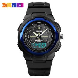 Цифровые мужские тактические армейские часы водонепроницаемые цифровые водонепроницаемые спортивные ударные часы спорт двойное время наручные часы