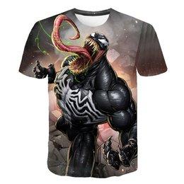 55fb0e65f Newest Venom t-shirt 3D Printed T-shirts Men Women Casual Shirt Short  Sleeve Fitness T Shirt Deadpool Tees Spider man Skull Tops
