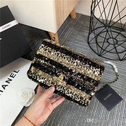 2018 Orijinal koyun Hakiki Deri Omuz Çantaları Tasarımcı Çanta yüksek kalite Lüks Çanta Çevirme kapak Gümüş zincir kadın çantaları indirimde