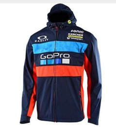 Racing Motorcycle Jackets Australia - Wholesale New arrival Moto GP Motocross Sweatshirts with zipper Motorcycle racing jackets Outdoor sports hoodies G
