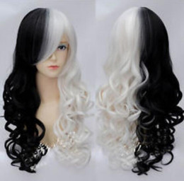 $enCountryForm.capitalKeyWord UK - WIG LL Marie Anime Style Long Wavy Hair Wig Costume Black White Bear Mix Wig Renaissance Costume wigs fast deliver