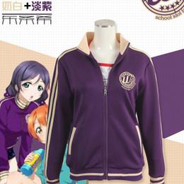 Wholesale anime womens hoodies resale online - Womens Casual Zipper Sports Hoodie Coat Japanese Anime Cosplay Costume