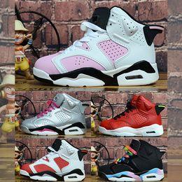 $enCountryForm.capitalKeyWord Australia - Baby girl boys Kids Breathable Basketball Sneaker Designer J 6 Brand Athletic Sports Casual Shoes Spring Running Children's Shoes