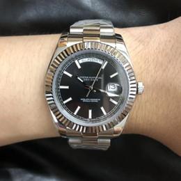 U1 Fabrik DayDate Silber Alle Artikel 40mm Saphirglas Auotmatic Bewegung U1 Quailty 316L-Edelstahl-Männer Moderne Armbanduhr im Angebot