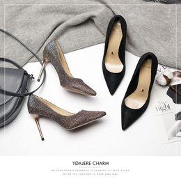 $enCountryForm.capitalKeyWord Australia - Attractive2019 Beautiful Generation Season Women's Winter Fine With Full Dress High-heeled Shoes Woman Sexy 18016