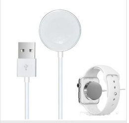 Wholesale Magnetic Charging Cable Swatch Boots Up Wireless Charging Pad For Apple Watch Charger Cables M Fast Charging mm mm Free DHL