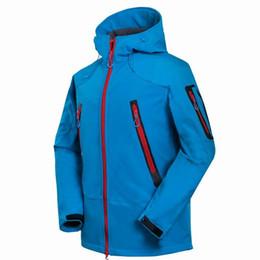 Windbreaker Orange NZ - 2018 New Men Coat Mens Sports Windproof Windbreaker Jacket Warm Coat Winter Sportwear