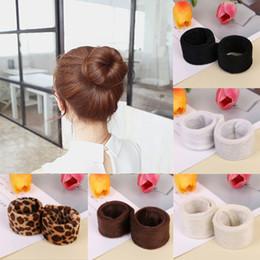 $enCountryForm.capitalKeyWord Australia - 1 pc Synthetic Wig Donut Headband Women Hair Accessories Girl Magic Hair Bun Maker Band French Dish Twist Hairstyle Tool