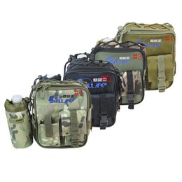 Wholesale Fishing Waistpack Multi Purpose Outdoor Sport Bag For Men And Women Storage Pockets Camouflage Shoulder bag ZZA178