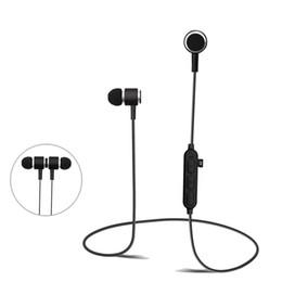 adb53142760 Andriod Earphones UK - Wireless Bluetooth Earphone Metal Magnetic Bluetooth  Headphone Support TF Card Sport Headset