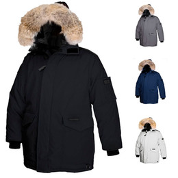 $enCountryForm.capitalKeyWord NZ - Luxurious Large real Wolf Fur Hooded Parka Winter Warm Coat Heli-Arctic Parka Thick Fur Lorette Parkas Men Natural Fur Jacket Duck Down