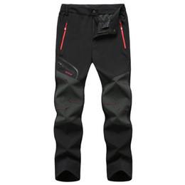 $enCountryForm.capitalKeyWord UK - Waterproof Tactical Softshell Mens Pants Fleece Thick Warm Winter Autumn Trousers Male Velvet Jogger Zipper Pocket Nice Clothing