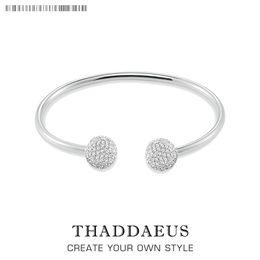 $enCountryForm.capitalKeyWord Australia - Bracelet Bangles Disco Ball Thomas Style Fashion Glam Jewelry Gift For Women,2017 Brand New Good In 925 Sterling Silver Soul Y19062901