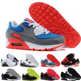 running trainers shoes air UK - Hot selling classic Men women Running Shoes Black Red White Sports Trainer Air Cushion Surface Breathable Sports Shoes 36-45