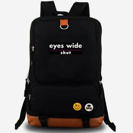 leisure outdoor sports canvas bag UK - Shut backpack Eyes wide EWS daypack Nicole Kidman best laptop schoolbag Leisure rucksack Sport school bag Outdoor day pack