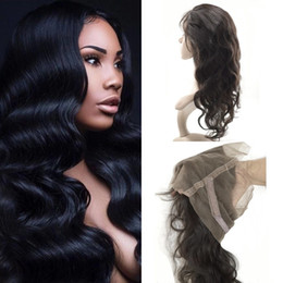 $enCountryForm.capitalKeyWord Australia - Peruvian 360 Lace Frontal Closure Body Wave 100% Human Virgin Hair Natural Color Fast Shipping G-EASY