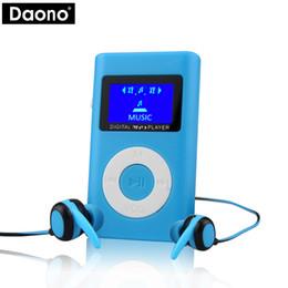 Superior mp3 online shopping - DAONO Superior Mini USB MP3 Player LCD Screen Support GB Micro SD TF Card Slot Digital mp3 music player