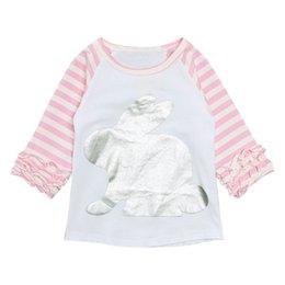 $enCountryForm.capitalKeyWord Australia - New lace jacket of 2019 Autumn Children Pink Tops Kids Baby Girl Striped Cartoon Casual Princess T Shirt Top #Y1