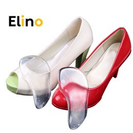 arch support shoe insole gel pads Australia - Elino Silicone Gel Orthotic Arch Support Pads Flat Feet Orthpentic Shoe Pads Anti-Slip Self-adhesive Feet Cushion Insert Insoles