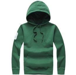 White Polo Cardigan Australia - 2018 Hot sale Mens polo Hoodies Pullover Sweatshirts autumn winter casual with a hood sport jacket men's designer Brand RL hoodies