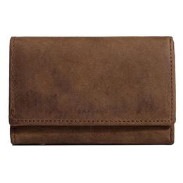 $enCountryForm.capitalKeyWord Australia - Wallet for Men-Genuine Leather Stylish Wallet Car Key Case Loop Hook Coin Case Cover Wallet Snap s281