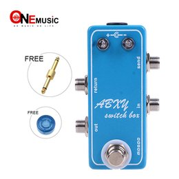 Switch looper online shopping - Super Mini Loops ABXY Switch Box Looper Switcher Guitar Effect Pedal